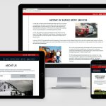 Website Design Portfolio - Local Service Company
