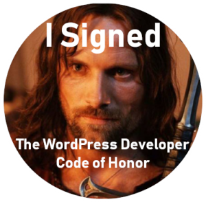 wordpress honor code