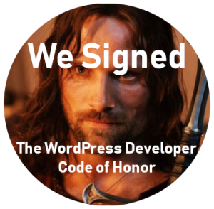 wordpress code of honor