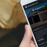 Brylandsheds Mobile Website